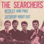 Single cover - The Searchers Needles And Pins Merseybeat hit