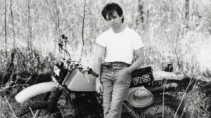 John Cougar Mellencamp in his 1980s dress