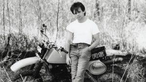 John Cougar Mellencamp in his 1980s dress