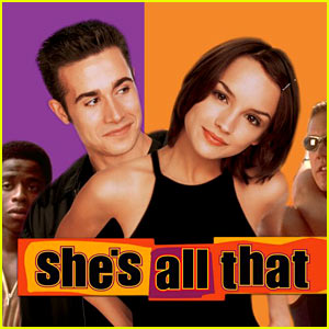 Kiss Me by Sixpence None The Richer is on the soundtrack to She's All That