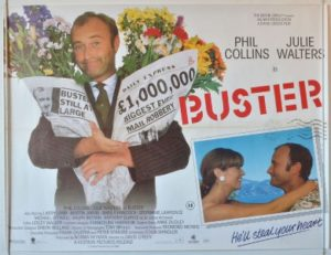 Buster movie poster feat. Phil Collins
