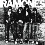 Punk rock icon Ramones performing Blitzkrieg Bop