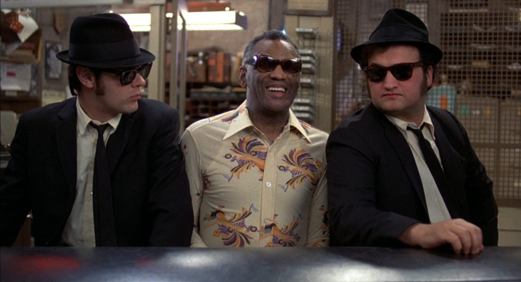 Blues Brothers together with Ray Charles
